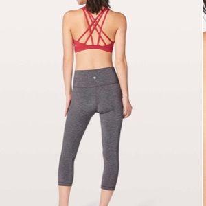 lululemon athletica Intimates & Sleepwear - NEW • Lululemon • Free To Be Serene Sports Bra Red
